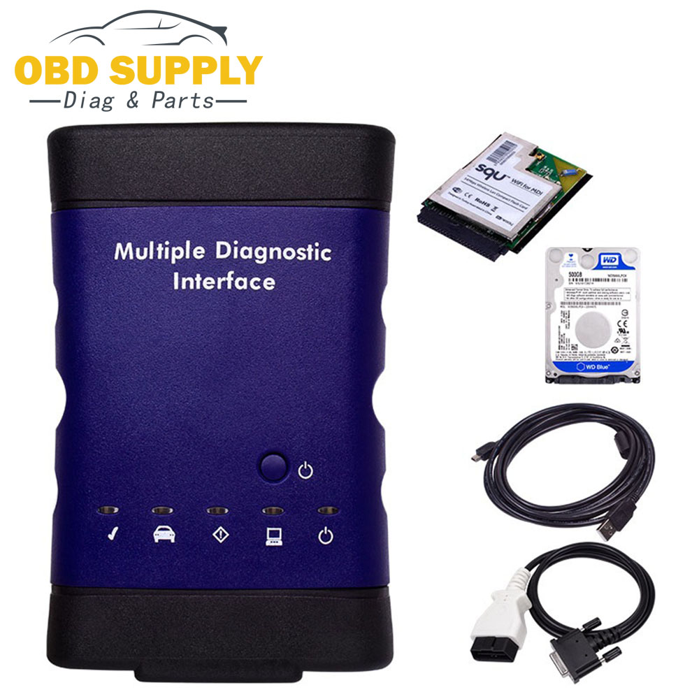 цена на 2018 Promotion Diagnostic Tool For GM MDI Scanner For Gm Mdi Wifi With Hdd Software with V2018.03