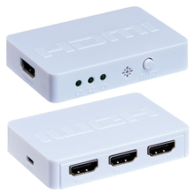 Playvision 3X1 Mini Hdmi Switch 3 Port Hub Box Auto Switch 3 in 1 Out Support Hdmi 1.4 3D 1080P Ir Control