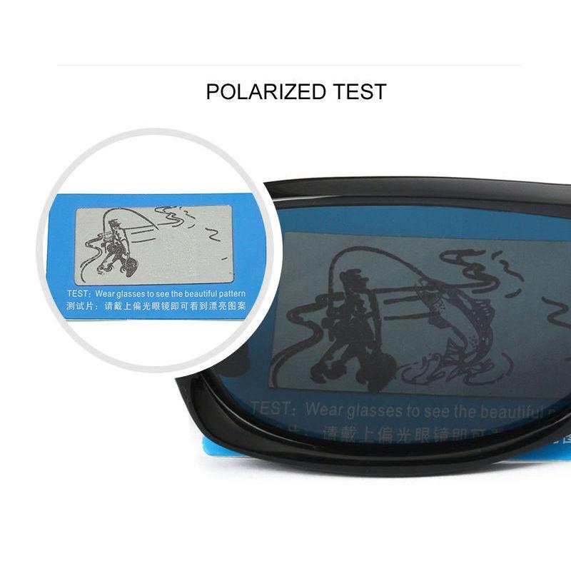 Syze dielli fleksibël TR90 të polarizuar për burra Sport syze për - Peshkimi - Foto 3