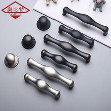 Aobt цинковый сплав серебристые дуги ручки для шкафа ящика кухонный