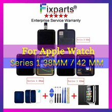 Sport/Sapphire For Apple Watch LCD Display Touch Screen Assembly For Apple Watch Series 1 LCD 38mm/42mm Pantalla Replacement
