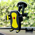 Automatic Rock Car Mobile car Phone Holder Adjustable Support 6.0 inch 360 Rotate For Iphone 6 Plus/5s For Samsung galaxy S6 s7