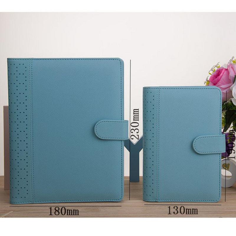 Uus Macaron õõnes PU nahast spiraal sülearvutid kirjatarbed, - Kaustikud ja kontoriraamatud - Foto 2