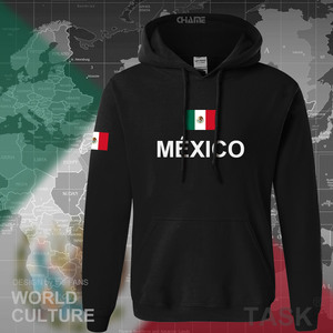 Image 2 - Mexico team 2017 hoodies men sweatshirt sweat new streetwear clothing jersey sporting tracksuit nation Mexican fleece MX MEX