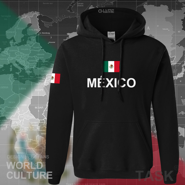 Mexico team 2017 hoodies men sweatshirt sweat new streetwear clothing jersey sporting tracksuit nation Mexican fleece MX MEX 1