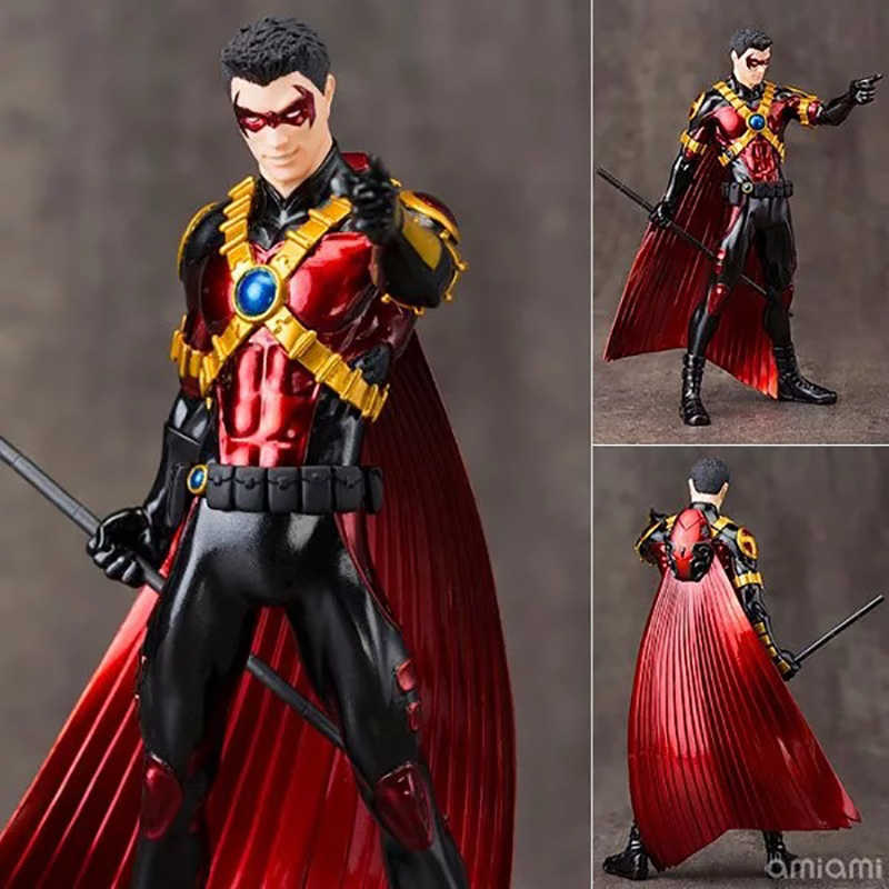 Red Robin + ARTFX DC Action Figure 52th Ver. Red Robin Boneca PVC Action Figure Collectible Modelo Toy 18 cm KT3517