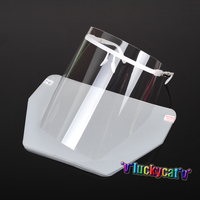Dental Adjustable Detachable Full Face Shield With 10 Detachable Visors