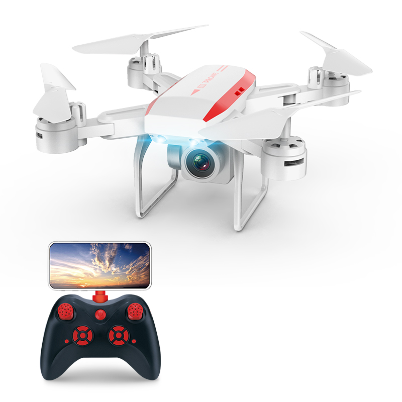 KY606D <font><b>Drone</b></font> <font><b>FPV</b></font> <font><b>RC</b></font> <font><b>Drone</b></font> 4k Camera 1080 HD Aerial Video Quadcopter <font><b>RC</b></font> Helicopter Toys Foldable Off-Point <font><b>Drone</b></font> For Kids image