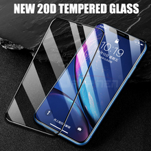 20D Curved Edge Full Cover Tempered Glass On The For iPhone 7 8 6 6S Plus Screen Protector For iPhone X XR XS Max Glass Film цены