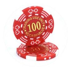 20 шт./партия, фишки для покера 11,5 г, железные/ABS фишки для казино, 11 цветов, покерные цветы, Техасский Холдем, покерные фишки оптом
