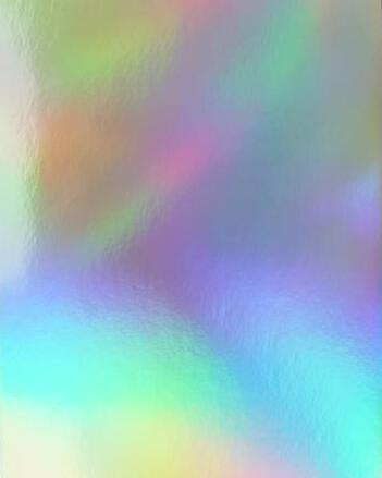 15pcs A4/A5 Single Side Holographic Rainbow Glossy 250gsm Cardstock Thick Paper Color Card