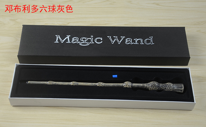 Image 4 - Hermione Harry Potterer Magic Wand Top Anime LED Lights Severus Snape Wand and Gift Box Cosplay Game Props Collection Toy Stick-in Action & Toy Figures from Toys & Hobbies
