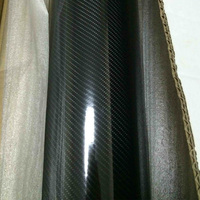 6D Waterproof Vinyl Wrap Carbon Fiber Bubble Vehicle Sticker Firm Wrapping Decals Exterior & Interior DIY Decoration 5m/10m/20m