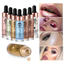 O.TWO.O Liquid Highlighter Makeup Contouring Face Brighten Base Primer Bronzer Shimmer Cream Concealer Illuminator Bronzing Drop