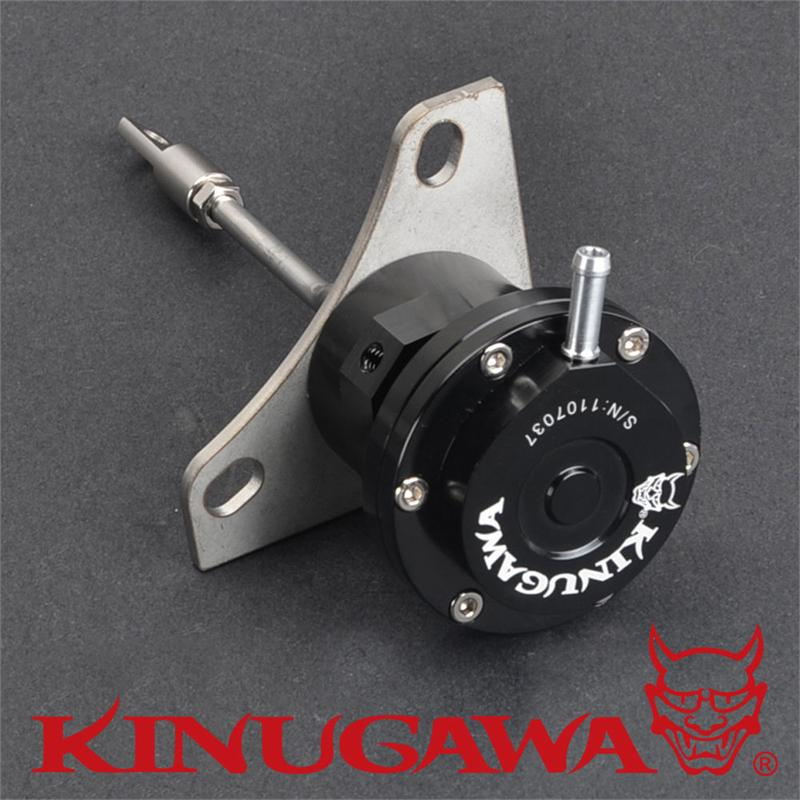 Kinugawa Adjustable Turbo Wastegate Actuator for Mitsubishi 4M40T / for Pajero 2.8L Delica Triton TF035 Turbo 1.0 bar / 14.7 Psi