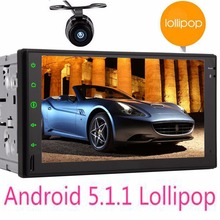 Quad Core Car Radio video player 7″ car stereo double 2 Din Android 5.1.1 autoradio GPS Navigation System 2 Din in car console