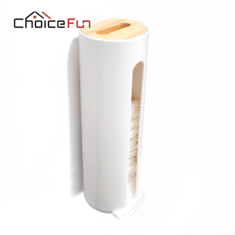 Storage-Case Makeup Cosmetic Wall-Mounted Cotton-Box Transparent Plastic Creative Modern