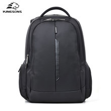Kingsons Brand Shockproof Laptop Backpack Nylon Waterproof Men Women Computer Notebook Bag 15.6 inch School Bags for Boys Girls(China)