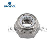 Wanyifa Titanium M5 M6 M8 With Nylon Anti-loose Nut for Bicycle Brake Motorcycle Modification
