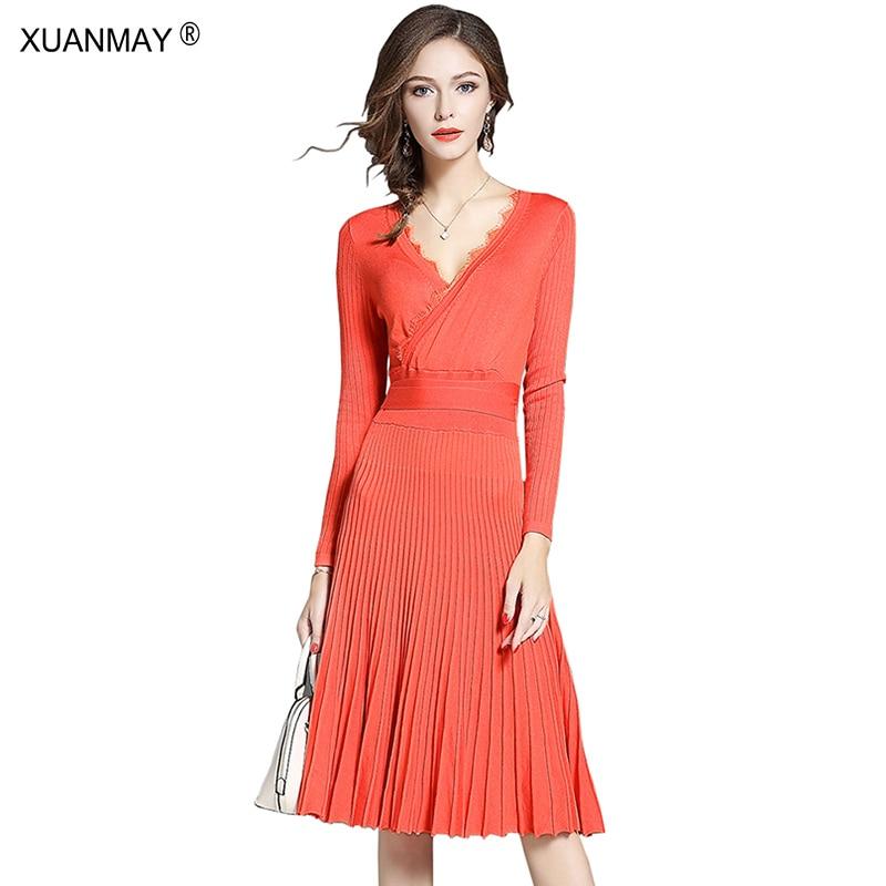 Женские платья осенние дешево