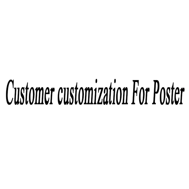 Customer customization For Poster retro nostalgia kraft paper wall sticker vintage poster
