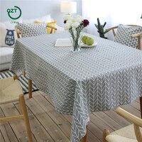 Trade Pastoral Coffee Hom Decoration Wedding Elegant Gold Europe Style Linen Cotton Rectangular Lace Edge Table