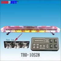 TBD 10S28 светодиодный аварийного Предупреждение световой, новый лен, пожарная машина автомобиль, DC12/24 В крыши Strobe красный/желтый/белый Предупр