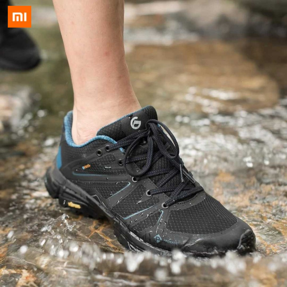 Xiaomi Mijia Men Proease Comfortable Waterproof Breathable Background V Running Outdoor Sneakers Shoes Anti-Slip-Shock Shoes