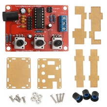 New 2019 Function Signal Generator DIY Adjustable 1Hz-1MHz for Frequency Amplitude XR2206 Hot Sale