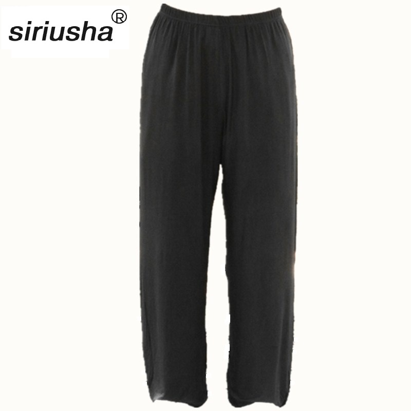 Loose Casual Pants Wide Legs Pants Leg Wide Trousers KUNGFU & Tai Chi Gossip Multifunctional at Any Occasion Other Than Work S11