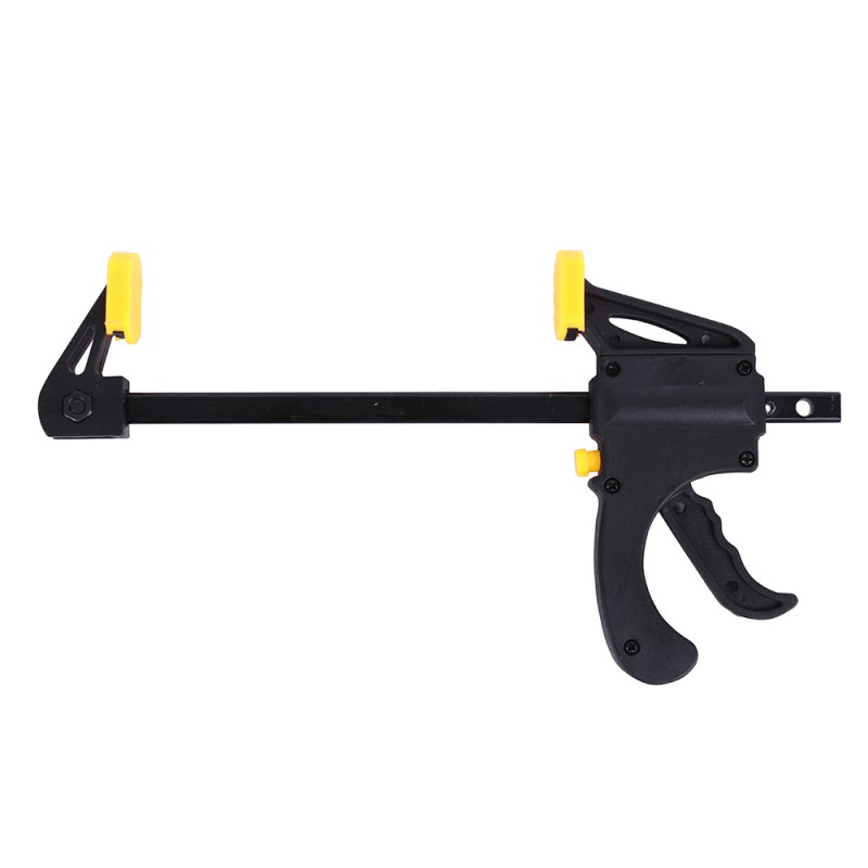 4 Inch Quick Ratchet Release Speed Squeeze Wood Working Clamp Clip Kit Spreader Gadget Tool DIY Hand Work Bar