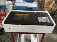 Cortador de impressora a laser/papel/mdf madeira compensada pvc laser gravura cortador a laser 2030 40w