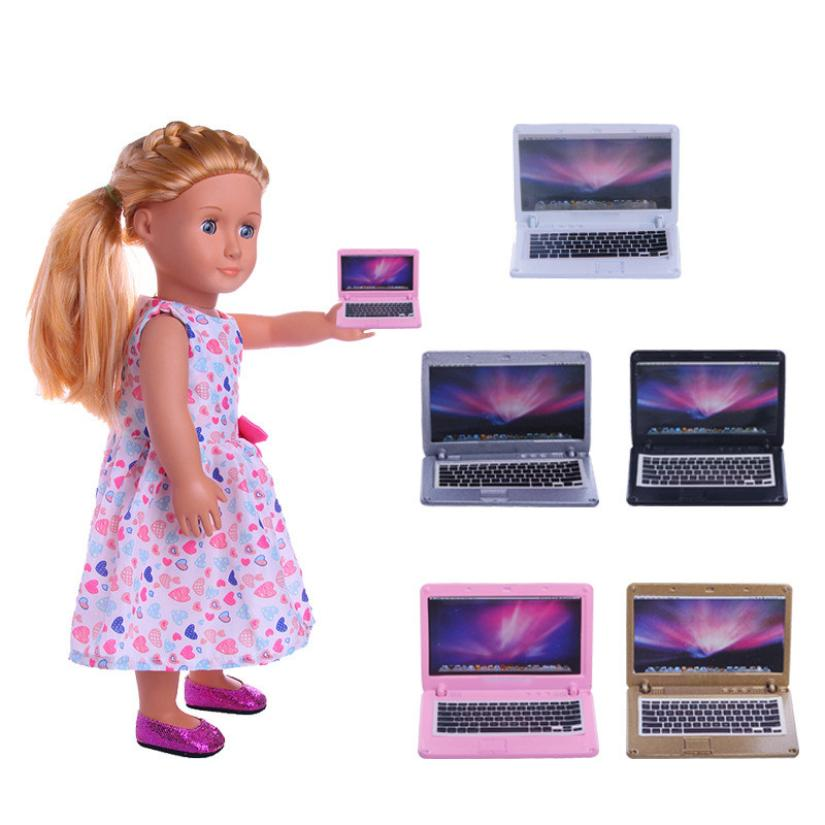 Cherry Pills #3004 Notebook Computer Model For 18 inch Our Generation American Girl/Boy Accessories for dolls Children Gift