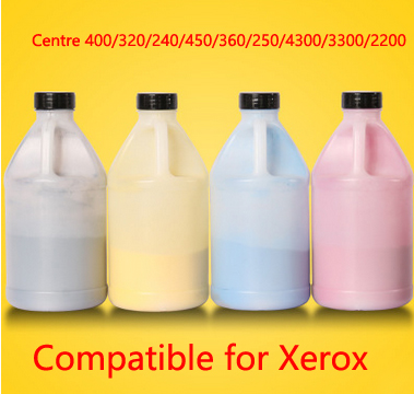Free Shipping Compatible for xerox Centre 400 320 240 450 360 250 4300 330 Chemical Color