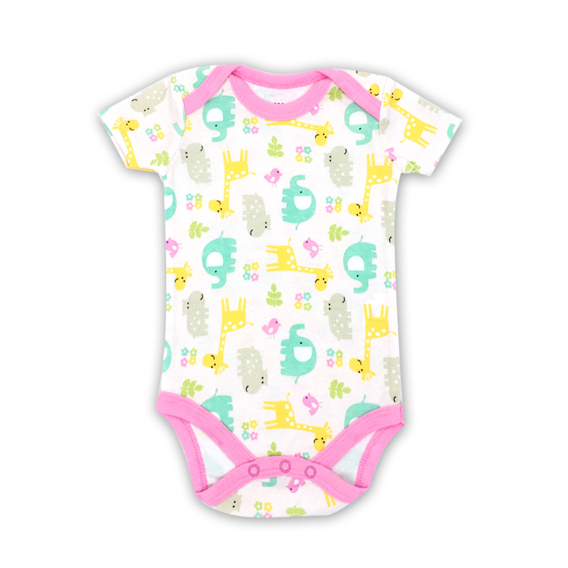 2018 New Baby Bodysuits Boy Girl Summer Clothes Jumpsuit Short Sleeve Cotton Next Infant comfort Clothing sets