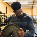 Nuevos hombres gymshark gimnasios de manga larga camisas hombre culturismo camisetas hombre del músculo de la aptitud singlete tanque de la camiseta para los hombres