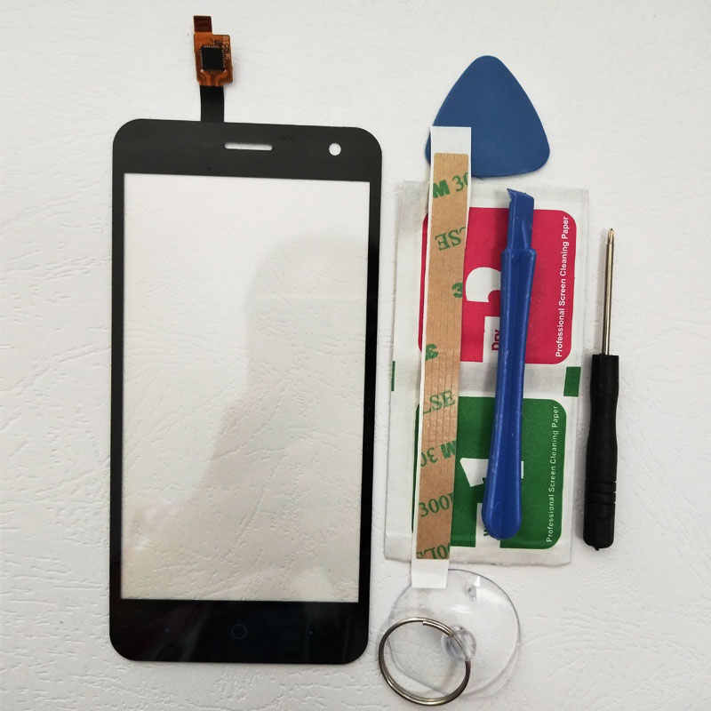 BINYEAE 5.0 ''Touch الشاشة ل ZTE شفرة A465 محول الأرقام اللمس لوحة زجاج عدسة الاستشعار شحن أدوات + لاصق A465 استبدال جزء