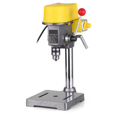 Professional Adjustment Table Clamp Mini Drilling Machine AC 220V 450W Drill Press Bench Drill Stand for CNC Power Tools amyamy mini drill press bench small drill machine work bench with 5 speed adjustable 220v eu plug 5168e