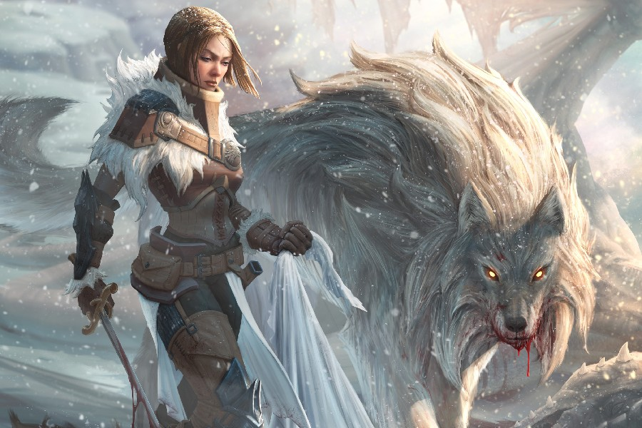 Warrior Epic Fantasy Art