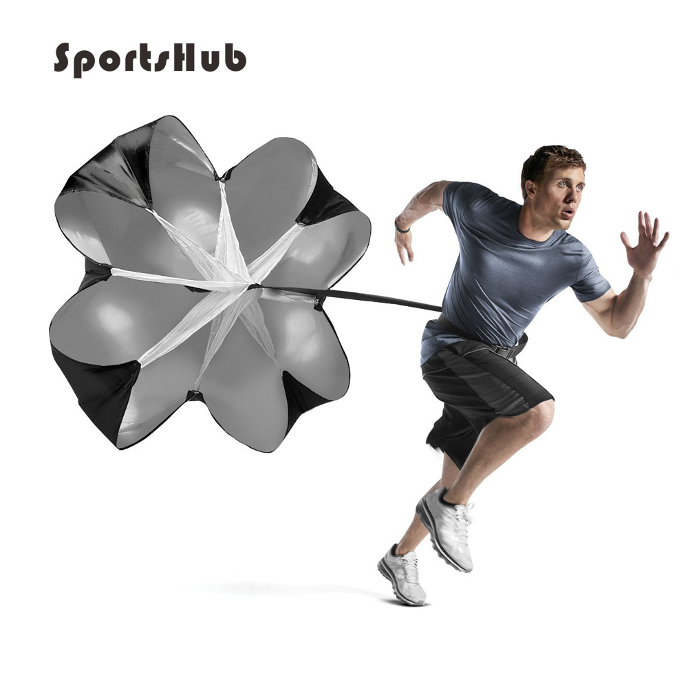 SPORTSHUB Speed Resistance Training Parachute Running Chute Soccer Football Training Parachute Umbrella EF0001