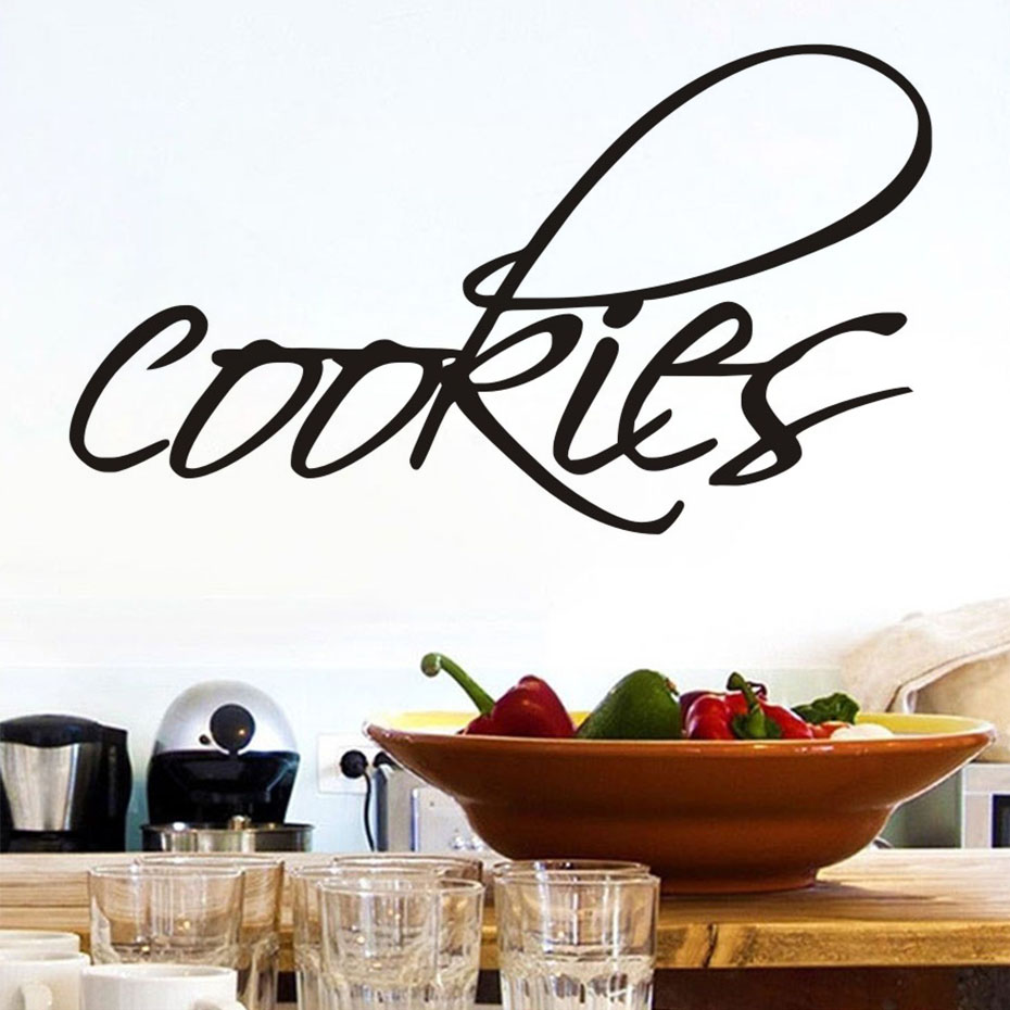 Cookies Kitchen Wall Decal Room Stickers Living Room Kitchen Room Home Decor