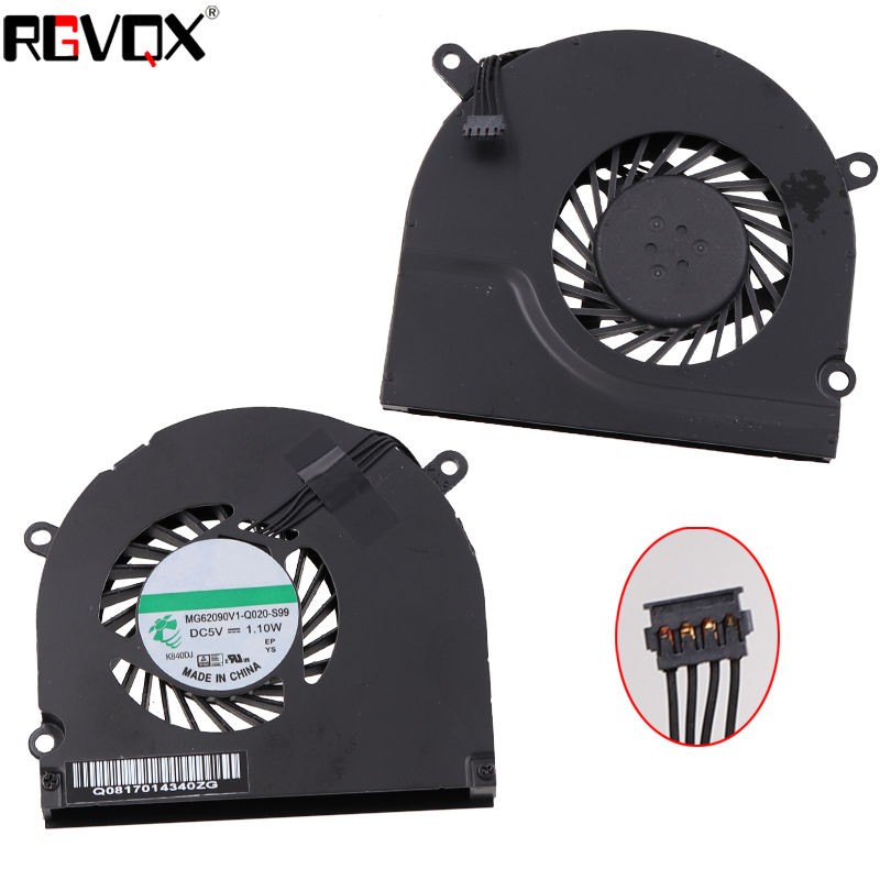 Купить с кэшбэком New Laptop Cooling Fan For APPLE MacBook Pro A1286 Right side Original PN MG62090V1-Q020-S99 CPU Cooler Radiator