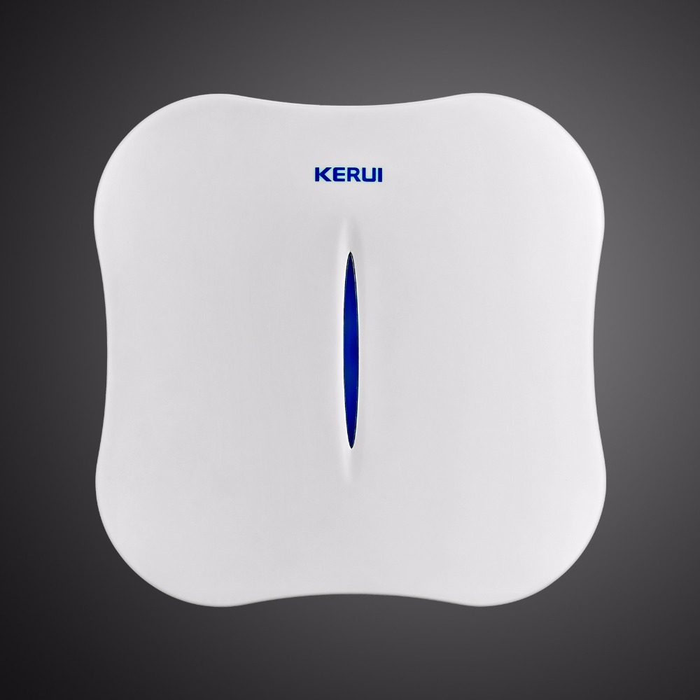 KERUI W1 WIFI Alarm System Home PSTN Burglar Security Intelligent System Android IOS APP Control Wireless Smoke Detector 1
