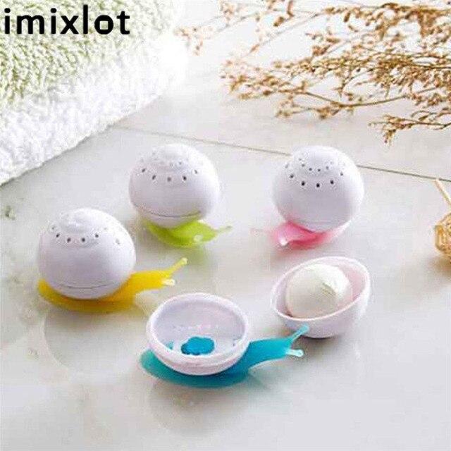 Imixlot 1 Pc śliczny styl Mini ślimak odświeżacz powietrza stały zapach dla pokoju gościnnego łazienka akcesoria samochodowe hurtownie