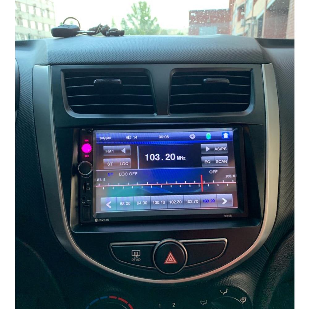 Radio Fascia för Hyundai i-25 Accent Solaris Verna Audio Panel Dash - Reservdelar och bildelar - Foto 6