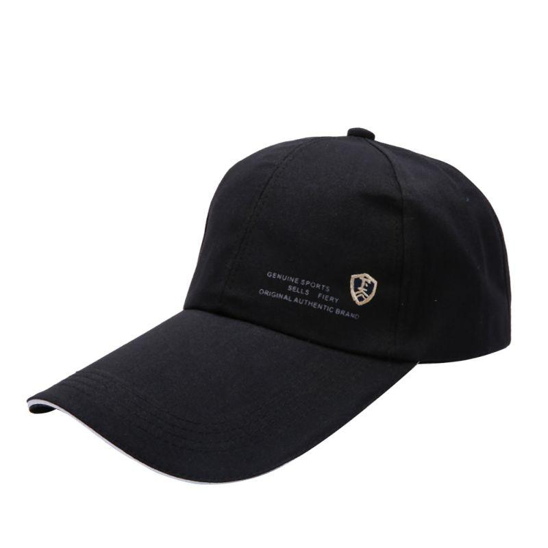 Unisex Sports Women Men Hats Lengthened Brimmed Golf Cap Outdoor Adjustable Hip-Hop Dance Hat