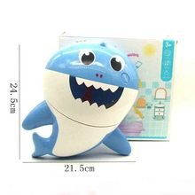 Outdoor Bubble Baby Shark  Baby Bath Toy Bubble Machine Swimming Bathtub Soap Machine Children Toy Music Water Toy