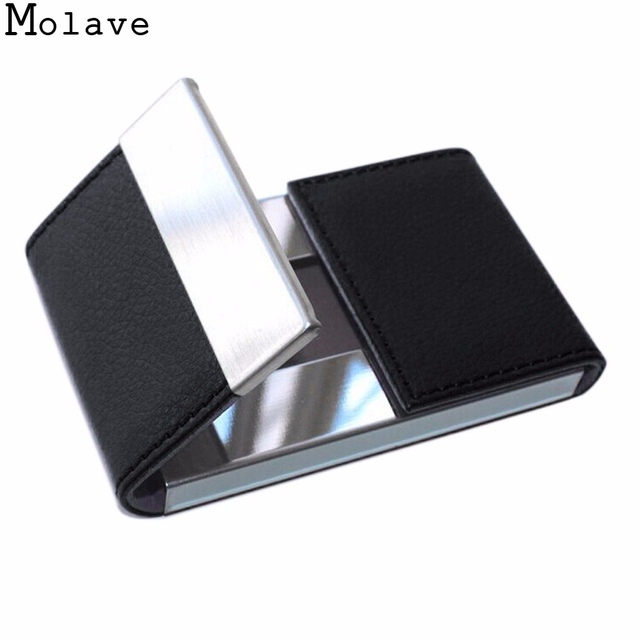 2017 new arrival modern men double open business credit card holder 2017 new arrival modern men double open business credit card holder women metal pu bank card colourmoves