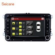 Seicane 7 «автомобильный dvd-радиоплеер мультимедийная лента рекордер для VW Volkswagen Polo Tiguan Гольф плюс Passat b5 b6 Skoda роскошный