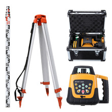 Laser-Level-2kg Tripod Staff Rotary Aluminum Red/green-Beam 5m